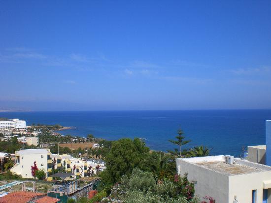 Scaleta Beach Hotel: Vue de la chambre