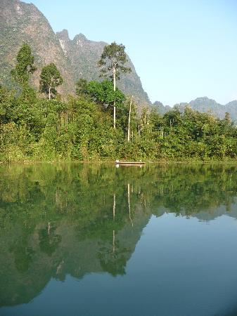 Khao Sok National Park : Chiawn Laan Lake