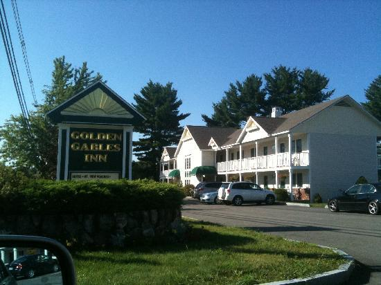 Exterior view of Golden Gables Inn