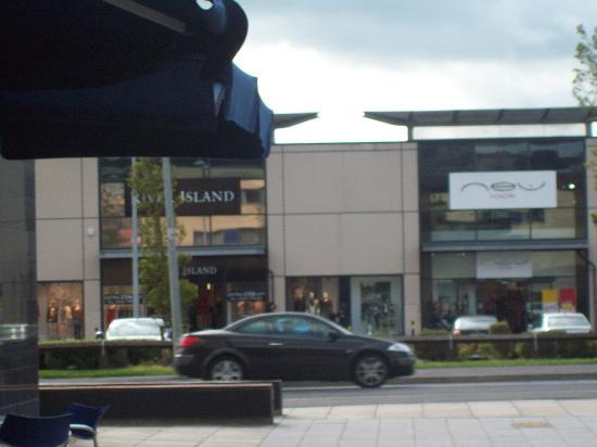 This Is How Close The Shops Are From The Front Door Picture Of
