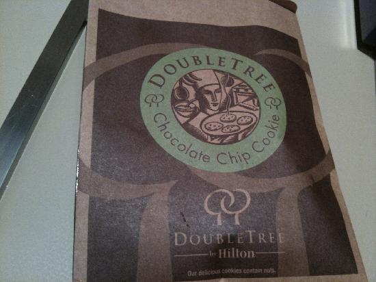 DoubleTree by Hilton Kuala Lumpur: Doubletree Cookie Bag