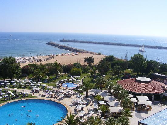 Tivoli Marina Vilamoura: Our view from our room on 6th floor