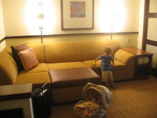 Hyatt Place South Bend/Mishawaka: couch