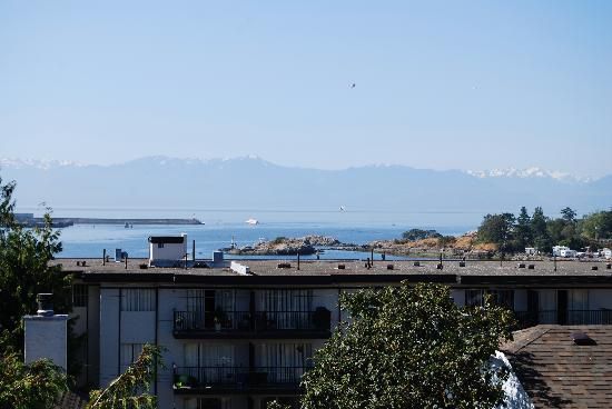 A Downtown Victoria Bed and Breakfast: View from b&b dining room
