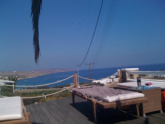 Anemoessa Boutique Hotel: view from pool deck