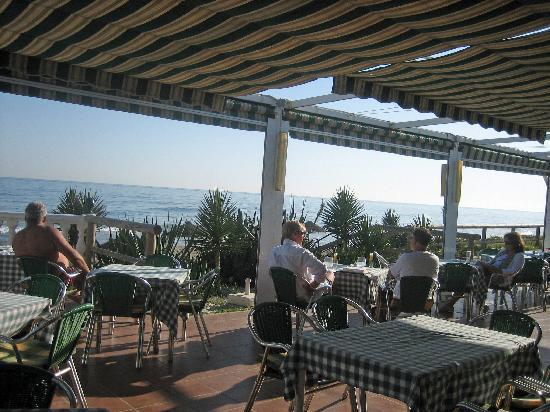 Chiringuito Triana: The terrace