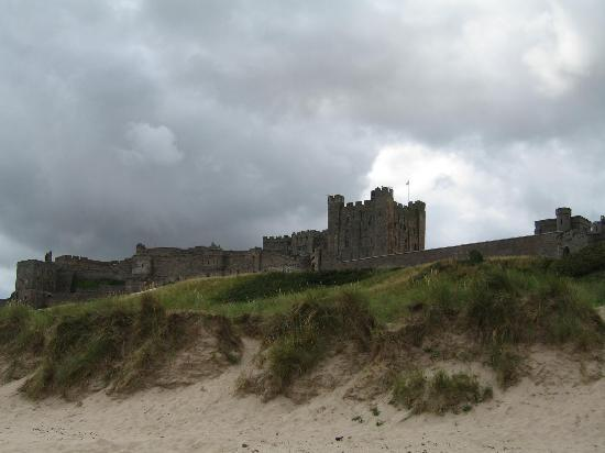 Seahouses, UK: Bamburgh Castle
