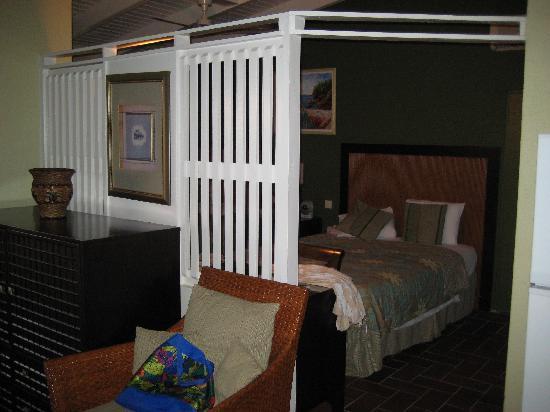 Bungalow Trennwand Zw Wohn Und Schlafzimmer Picture Of Blue