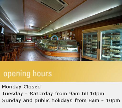 Msida, มอลตา: Busy Bee cafe