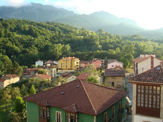 Hotel Naranjo de Bulnes: vistas desde la habitación