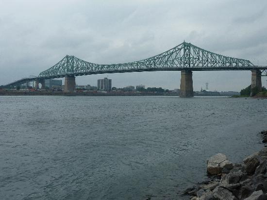 C C Cherrier: Le pont Jacques Cartier