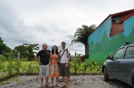 Casa Bella Rita Boutique Bed & Breakfast: My Wife and I with Steve