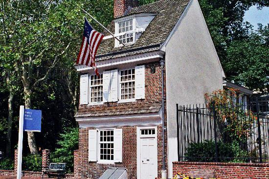 The Constitutional Walking Tour of Philadelphia: Betsy Ross House