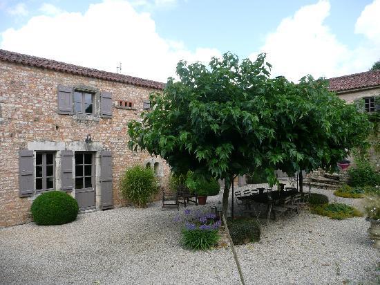 La Frelonniere: The terrace