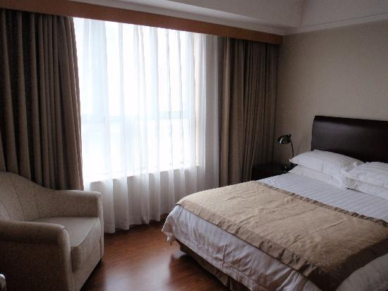 New Harbour Service Apartments: bedroom in 1 bed apartment
