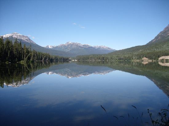 Banff, Canada: eindrucksvolle Spiegelung