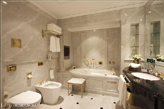 Baño Suite Presidencial Picture Of Alvear Palace Hotel