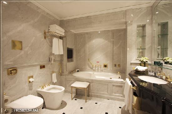 Alvear Palace Hotel: Baño Suite Presidencial