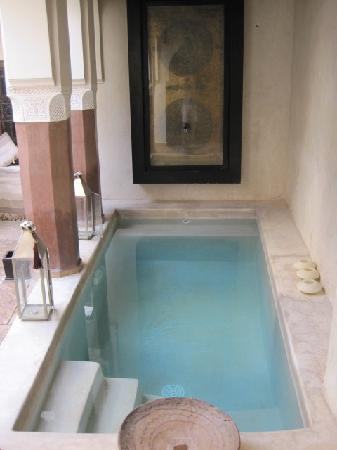 Zamzam Riad : The cool plunge pool at Zamzam.
