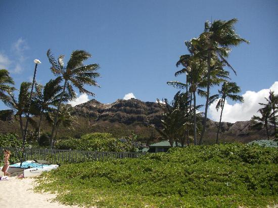 Lanikai Beach: view from beach