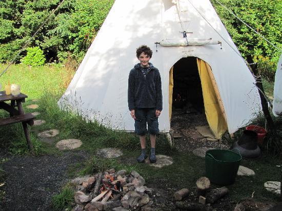 写真Larkhill Tipis and Yurts枚