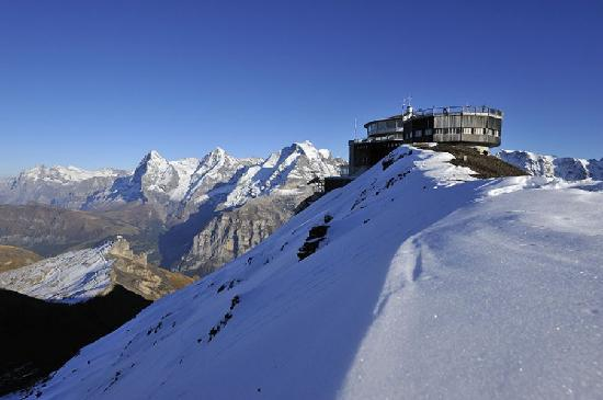Murren, Switzerland: Schilthorn