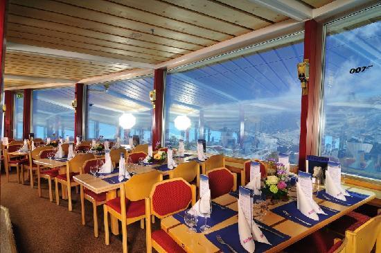 Mürren, Suisse : Drehrestaurant
