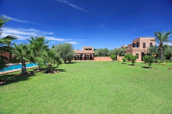 Villa Alouna: Alouna : un jardin signé Driss