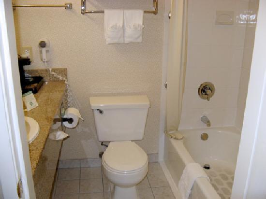 Comfort Inn Ventura Beach: Bathroom was immaculate.