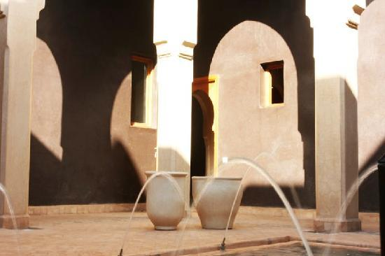 Villa JENAIMA Marrakech : une entrée