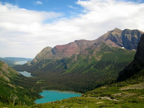 ‪‪Glacier National Park‬, ‪Montana‬: Grinnell Point‬