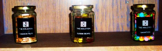 The Halcyon Hotel : Snack Jars (£2.50)