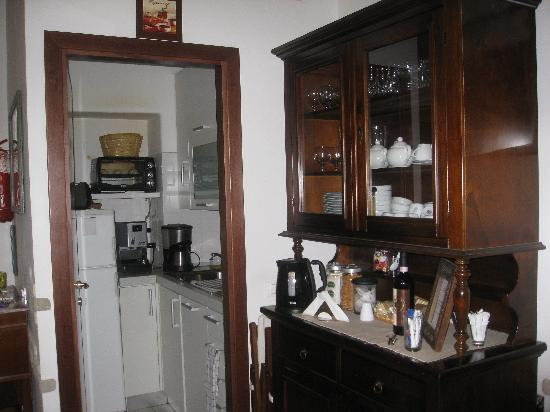 Obelus B&B: kitchen