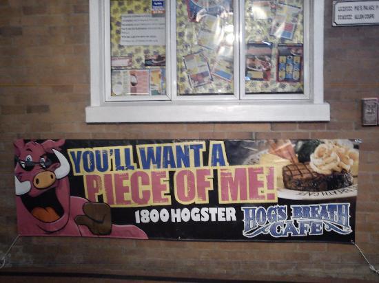 Hog's Breath Cafe: Façade extérieure