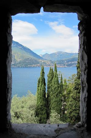 Perledo, Italy: view from inside the tower