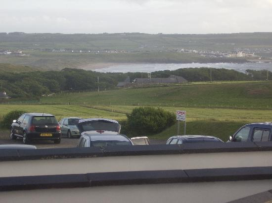 Causeway Hotel: The view from our room