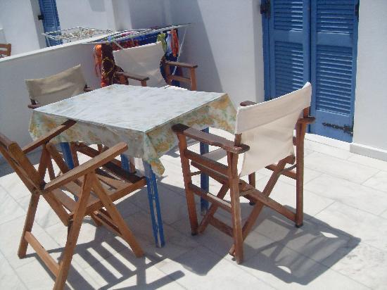 Windmill Naxos: terrazza