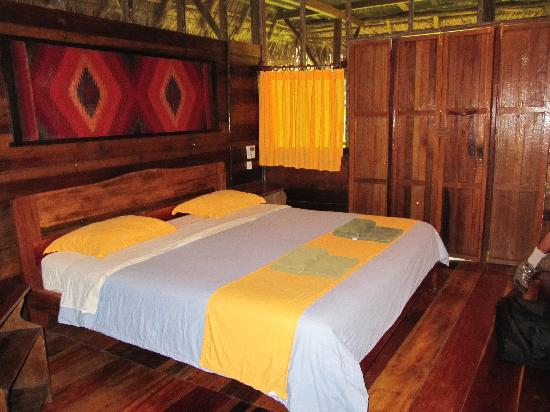 Sacha Lodge: Inside our cabin