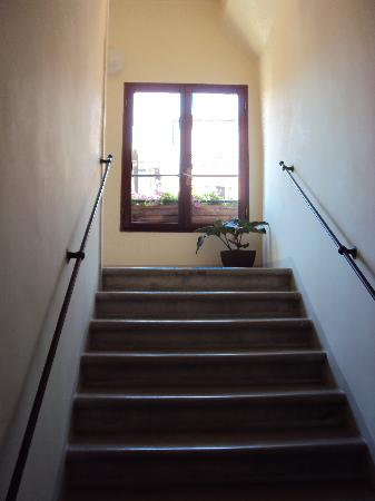 Residence Ca' Foscolo: the stairs to cafoscolo