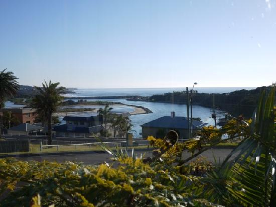 Whale Motor Inn: The waterview from the restaurant