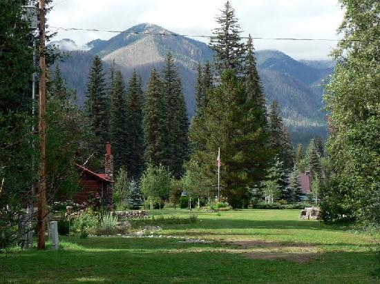 Eagle's Nest Cabins & Homes: The view from in front of one of the 3 ponds.