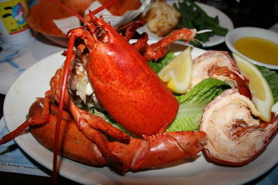 1.25lb lobster dish - Picture of Riverway Lobster House, South Yarmouth - TripAdvisor