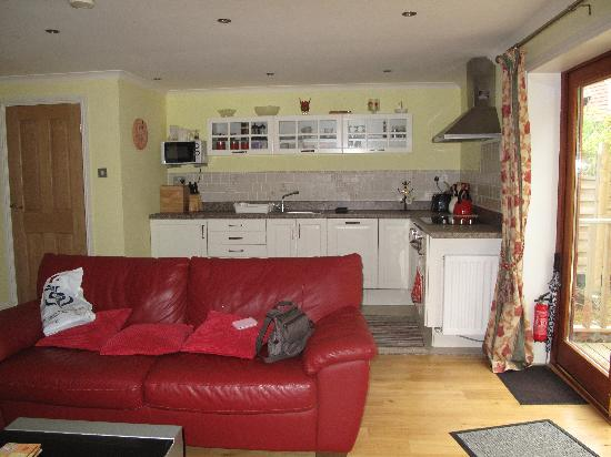 Stoneypark Bed and Breakfast: A very comfy living/kitchen