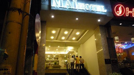 L'entrée de MAI Hotel