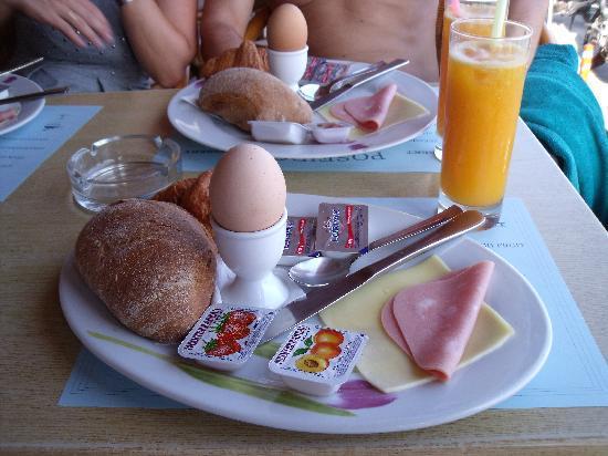 Hotel Poseidon: colazione