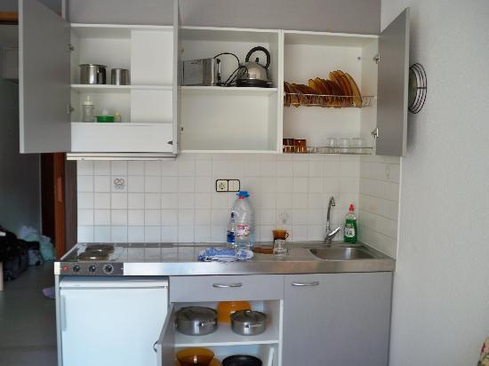 Aparthotel Miami Park: Kitchen
