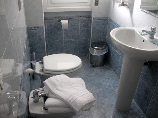 Hotel Cantoria: Bagno