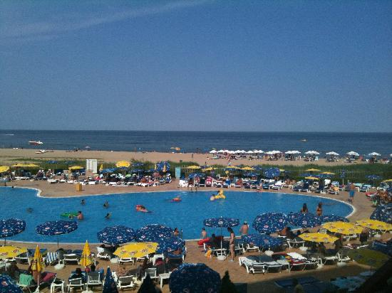 Hotel Riu Helios Bay: View from our balcony