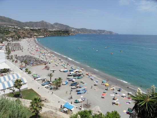 Hotel Paraiso del Mar: View to the Burriana's Beach