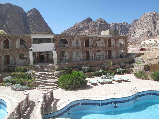 El Wady El Mouqudess Hotel: Aber schön gelegen und ordentlich.